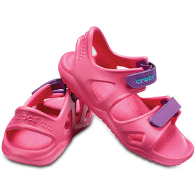 Crocs Swiftwater River Chaussures Enfant, paradise pink/amethyst